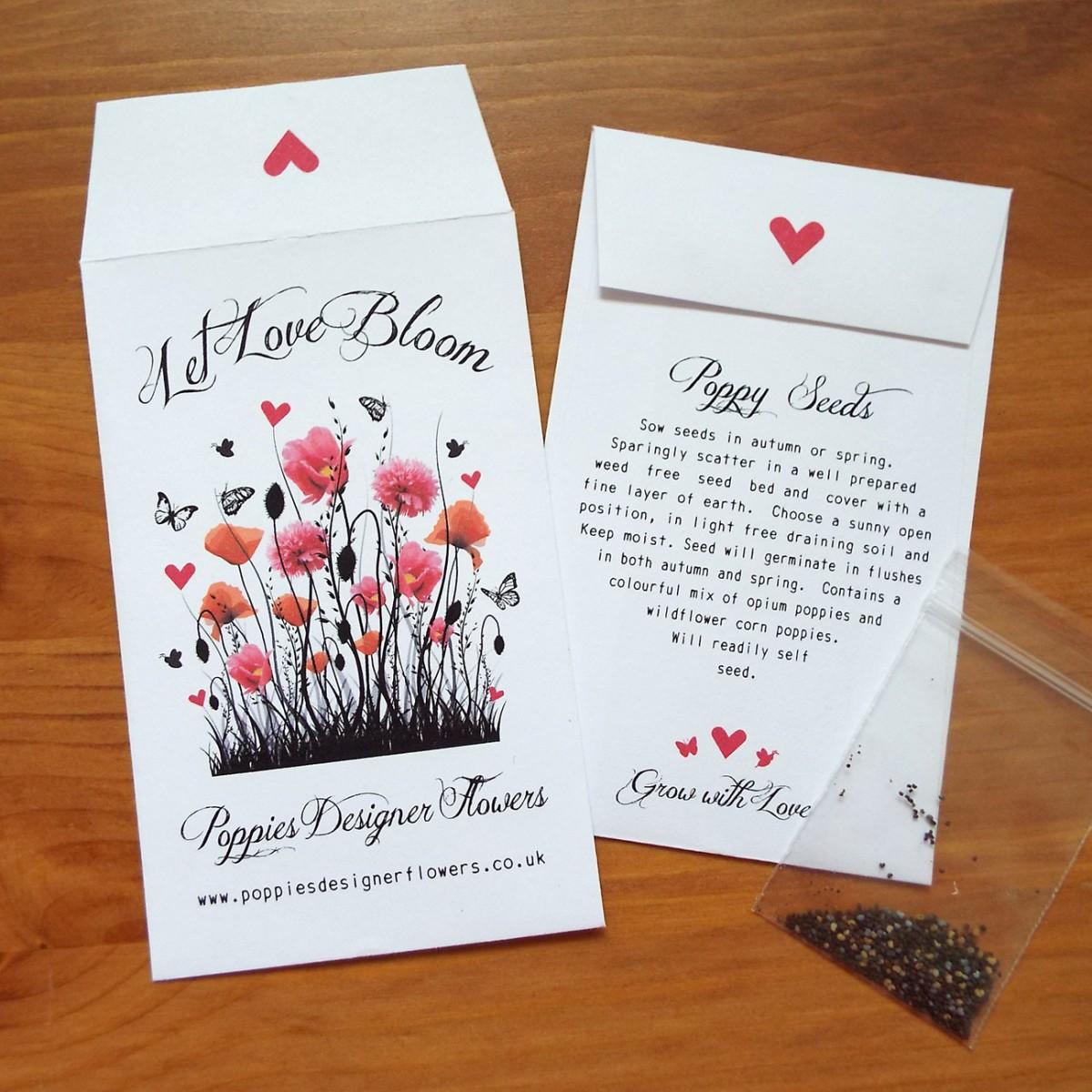 Promotional Seeds - Love Bespoke