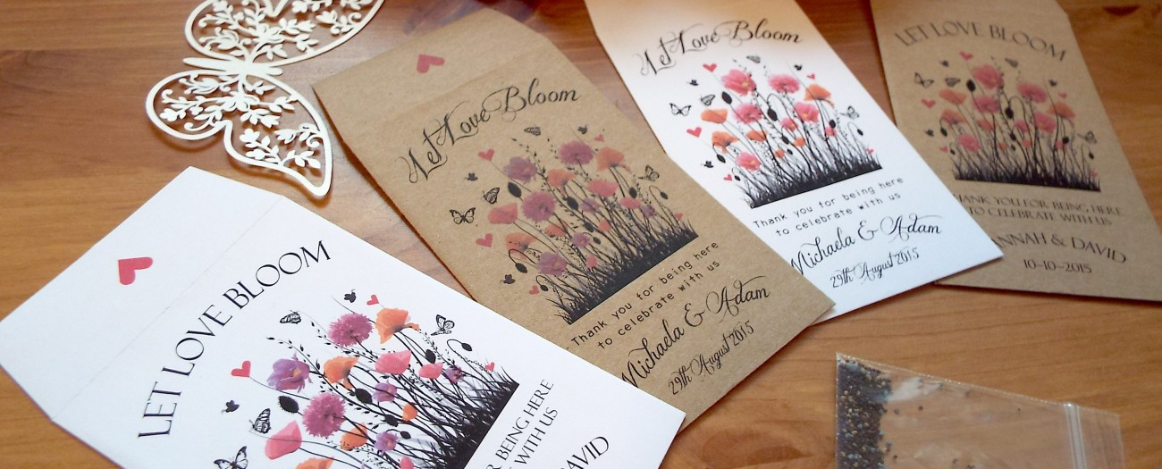 Love Bespoke Personalised Seeds