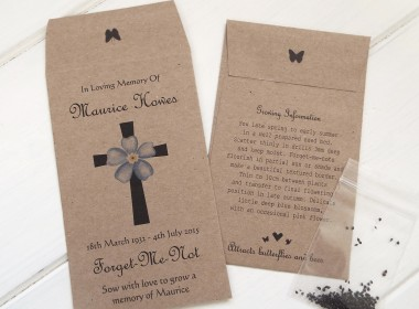Forget me not cross brown