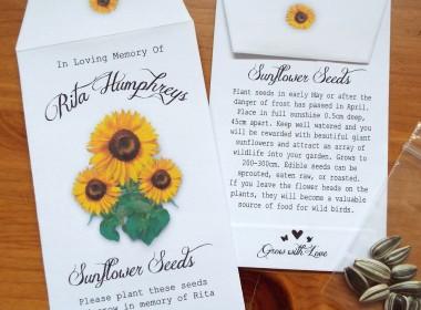 f sunflower bunch w