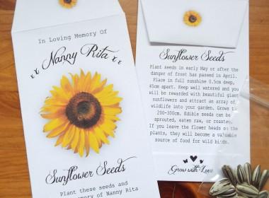 f sunflower single w