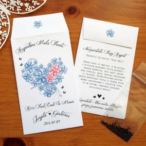 Forget-Me-Not Seed Wedding Favours