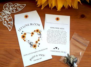 sunflower heart white