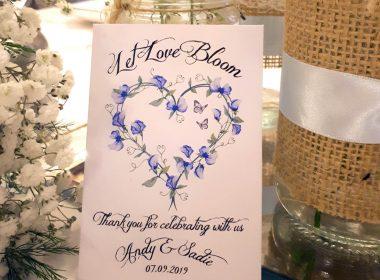 sweet pea blue ripple white square sadies wedding 20190907_173354